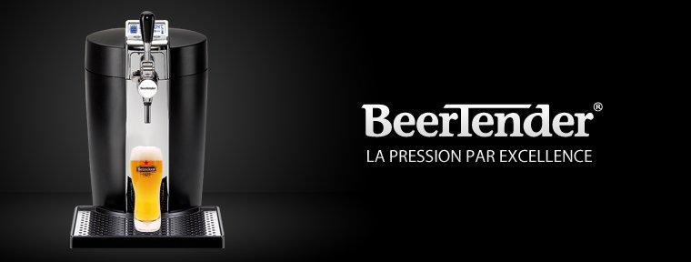 Fût de bière BeerTender : un système des groupes Heineken et SEB