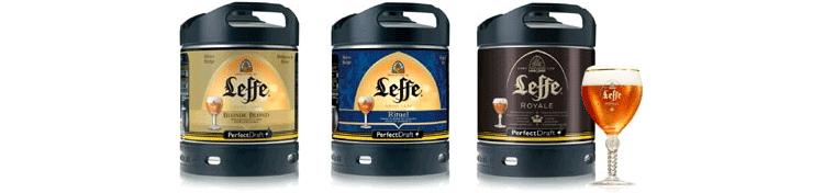Fûts de bière PerfectDraft Leffe